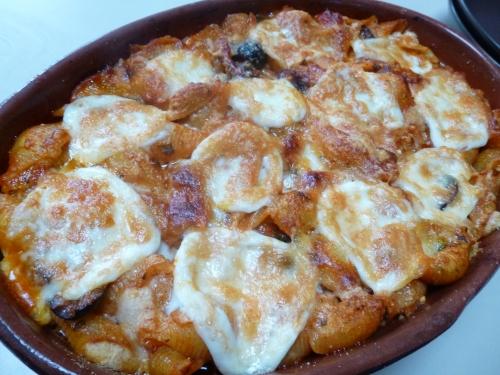 pates,mozzarella,origan