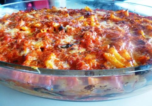 parmesan,tomates,basilic,macaroni,origan,aubergines,fontina