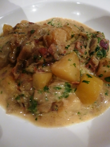 chicons,shropshire,jambon de bayonne,creme epaisse,macis