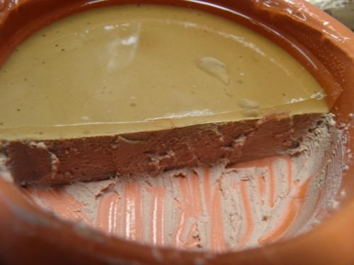 lard,foies de volaille,madère,porto,sauternes,beurre,gélatine,4 épices